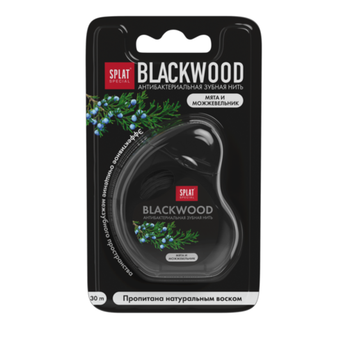 Splat Splat Dental Floss Blackwood | 30m