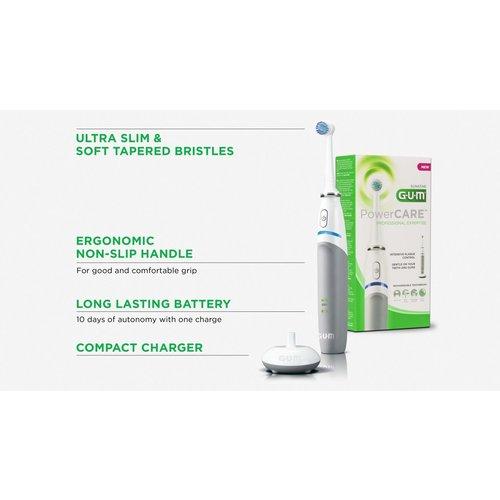 GUM GUM PowerCARE Elektrische Tandenborstel
