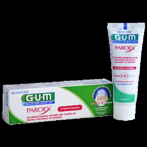 GUM GUM® Paroex® 0,12% Chloorhexidine Tandpasta | 75ml