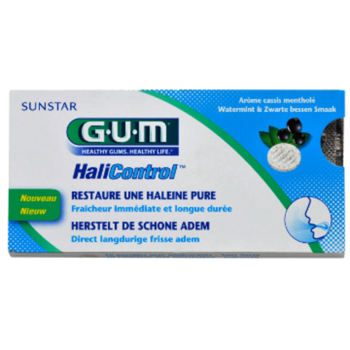 GUM GUM® HaliControl® Tabletten | 10 stuks
