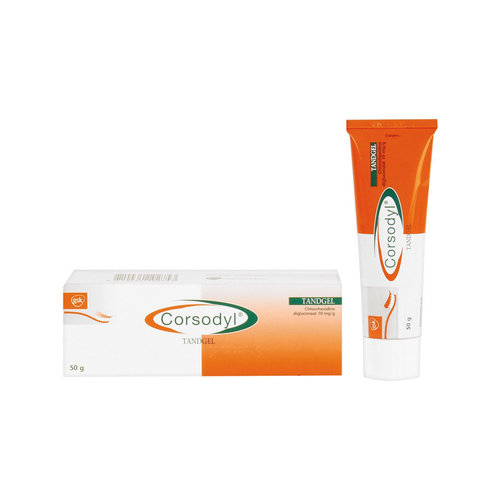 Corsodyl Corsodyl Tandgel Chloorhexidine diclogunaat 2 mg/ml - 50ml