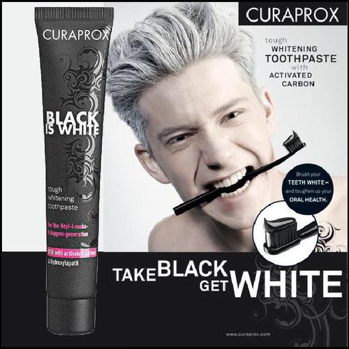 Curaprox Curaprox Black is White Tandpasta | 90ml