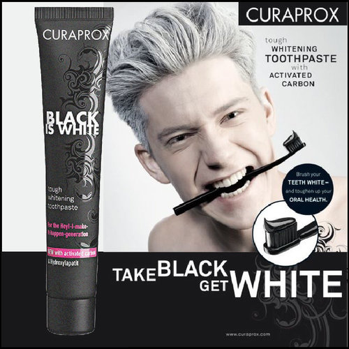 Curaprox Curaprox Black is White Tandpasta