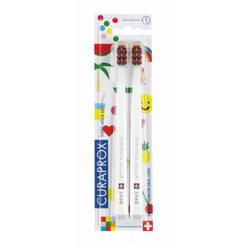 Curaprox Curaprox Tandenborstel | Pop Art Edition | Ultra Soft | 5460 | 2 Stuks