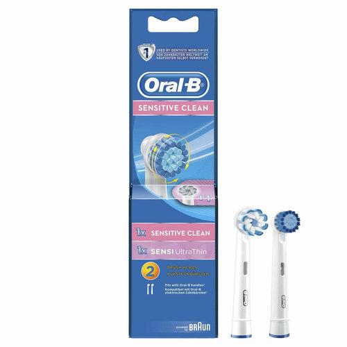 Oral-B Oral-B Sensitive Clean | 2 stuks