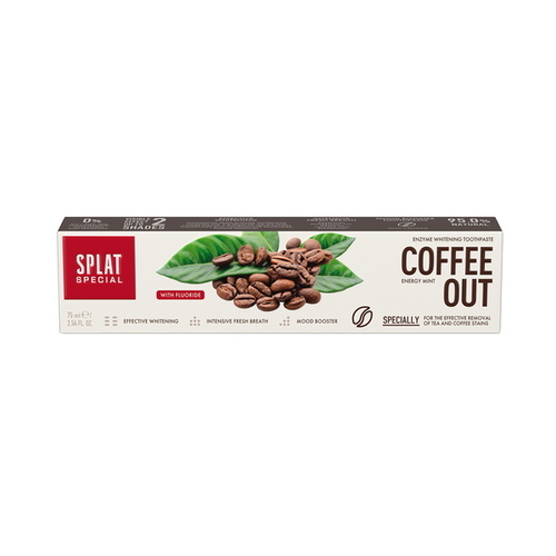 Splat Splat Special Coffee Out Tandpasta | 75ml