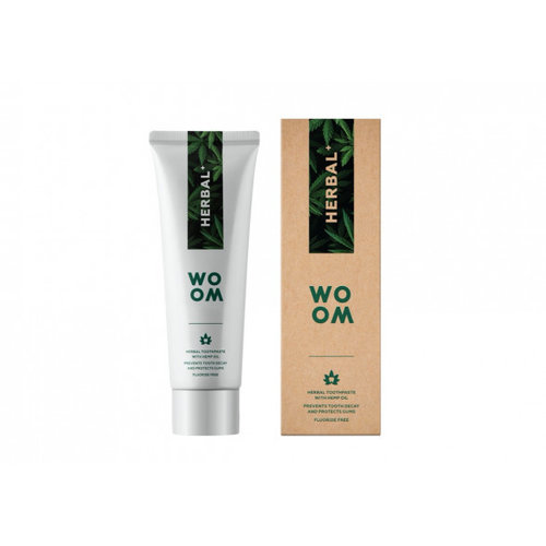 WOOM WOOM Herbal+ Tandpasta | 75ml