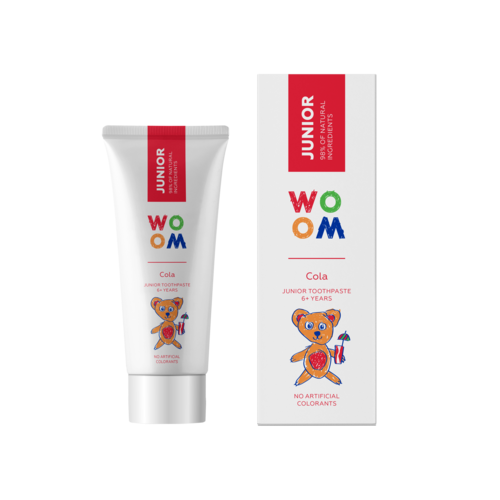 WOOM WOOM Junior Tandpasta | 6+ jaar | Cola | 50ml