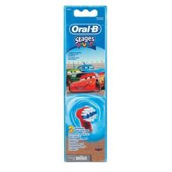 Oral-B Stages Opzetborstels   Cars   2 stuks