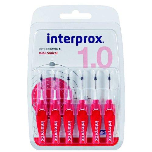 Interprox Interprox Mini Conical | 2 - 4 mm Rood | 6 Stuks