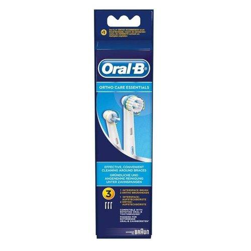 Oral-B Oral-B Ortho Care Essentials Opzetborstels | 3 stuks