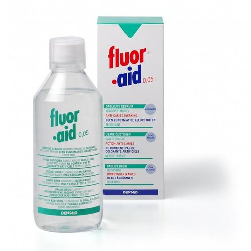 Dentaid Fluor aid | Mondspoelmiddel 500 ml