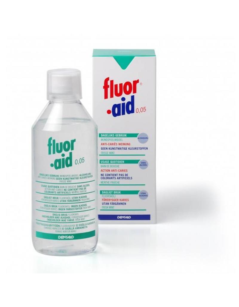 Dentaid Fluor.aid mondspoelmiddel 500 ml