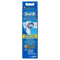 Oral-B Precision Clean Opzetborstels | 4 Stuks