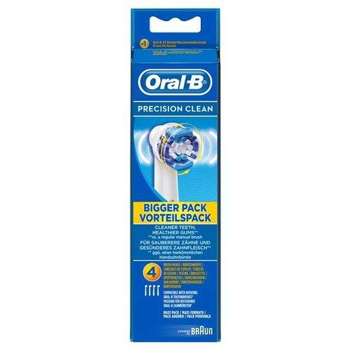 Oral-B Oral-B Precision Clean Opzetborstels | 4 Stuks
