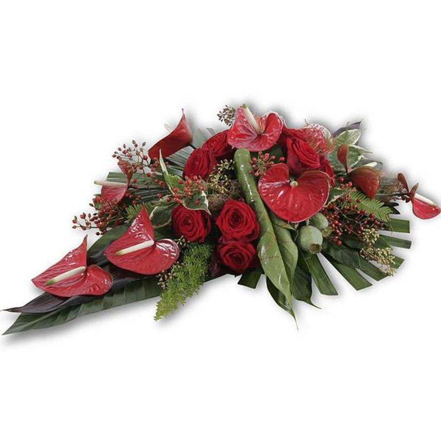 Toscane afscheidsbloemen