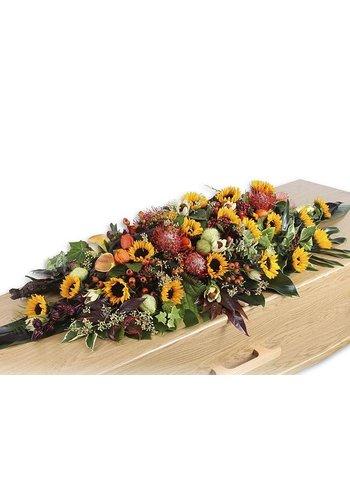 Abelia Meesterbinders Rouwarrangement seizoen