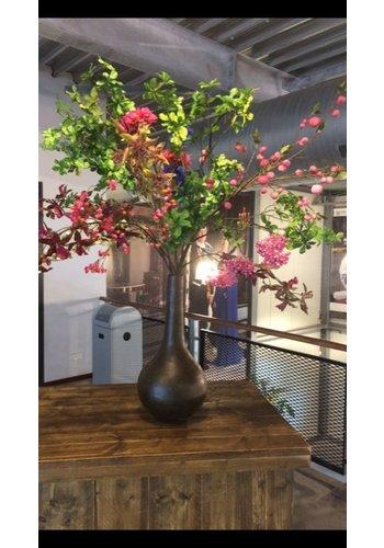 Abelia verhuur zijdebloemen Roze groen zijden boeket