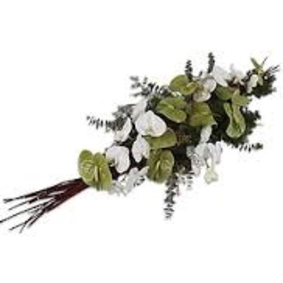Eucalyptus rouwbloemstuk-1