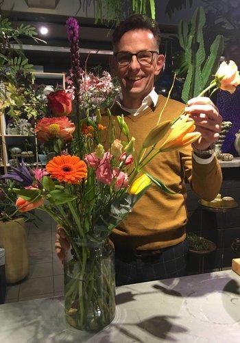 """17 oktober """"Schikt het met Bloemen?"""" met André Castricum"""