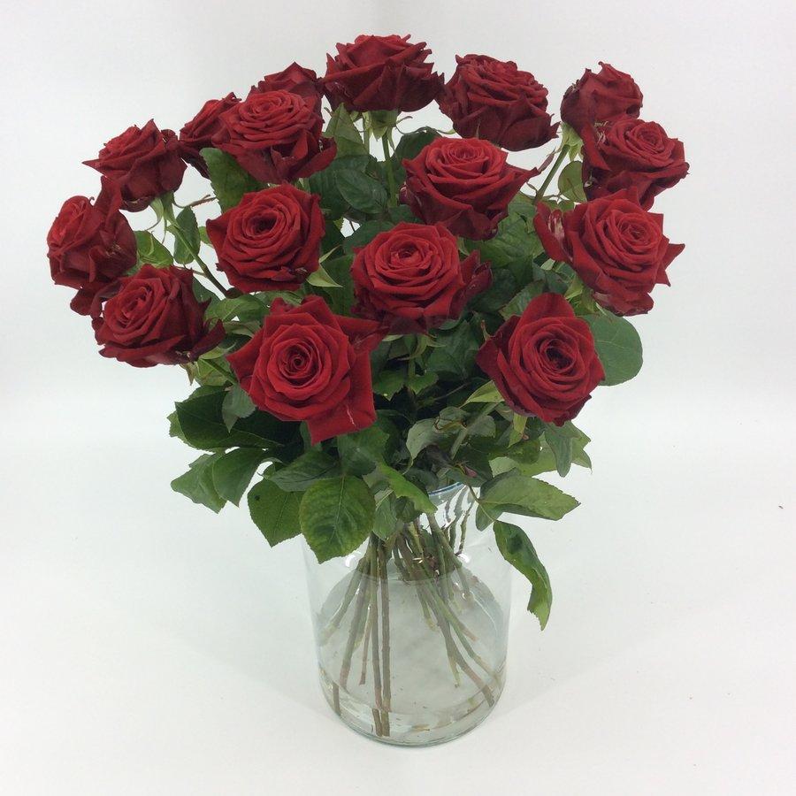 Boeket rode rozen bestellen-4