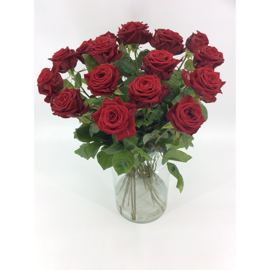 Boeket rode rozen bestellen-2