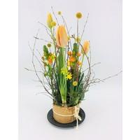 thumb-Tuintje bonte bloemen op schaal-2