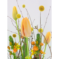 thumb-Tuintje bonte bloemen op schaal-3