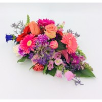 thumb-Kleurrijk rouwbloemstuk-1