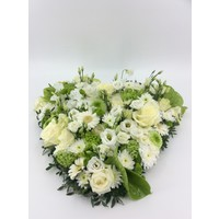 thumb-Wit groen hart rouwstuk-2
