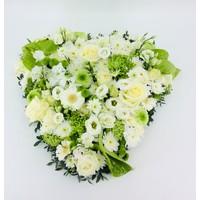 thumb-Wit groen hart rouwstuk-3