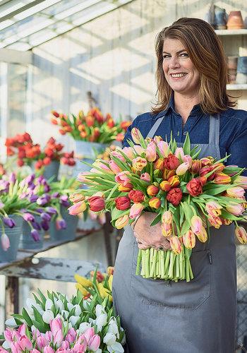 Abelia Meesterbinders Gemengde tulpen