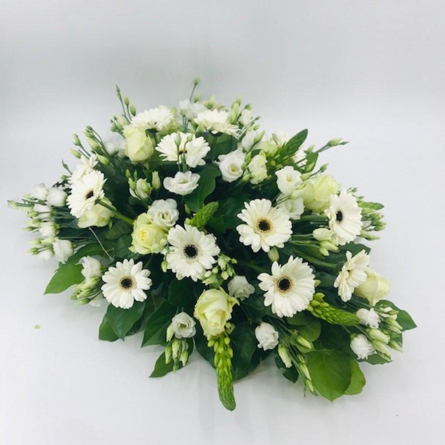 Bloemen voor uitvaart wit-3