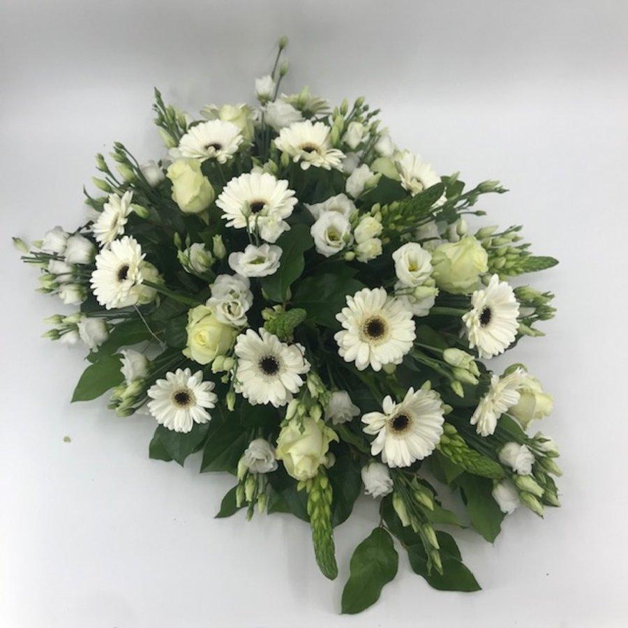Bloemen voor uitvaart wit-4
