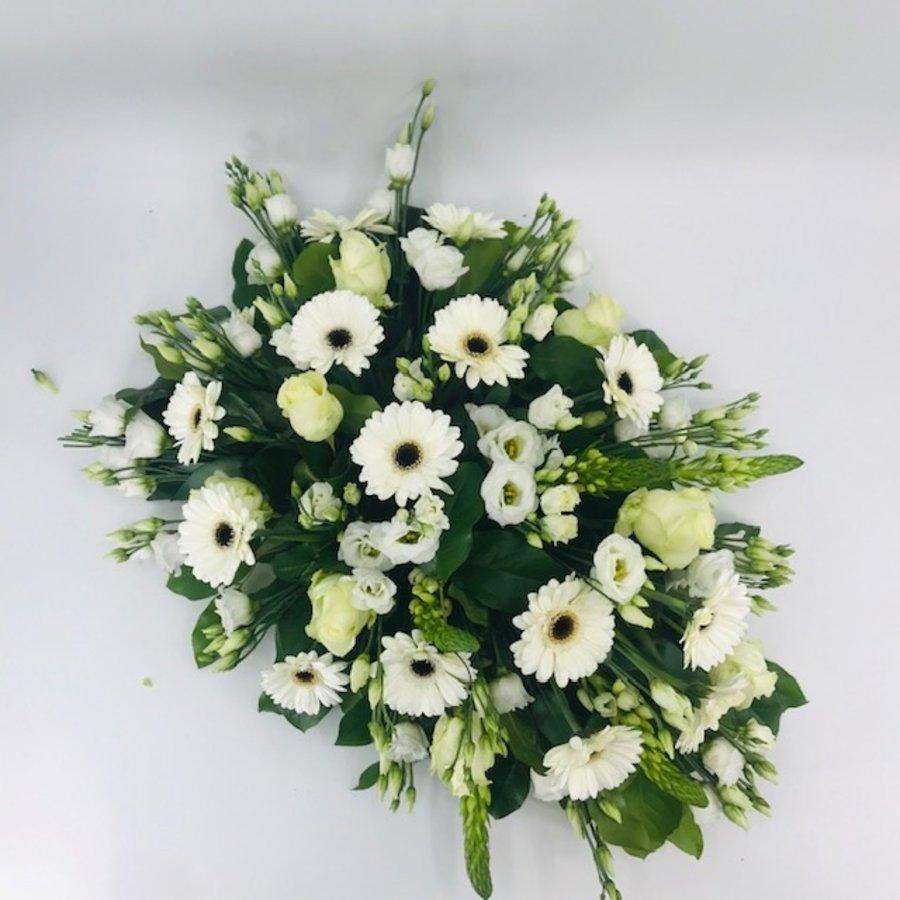 Bloemen voor uitvaart wit-5