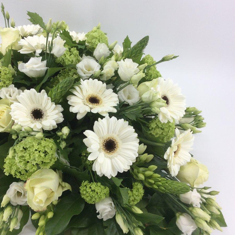 Bloemen voor uitvaart wit-6