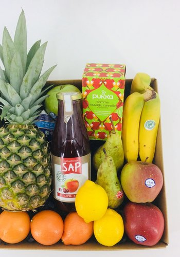 Fruitbox met Thee
