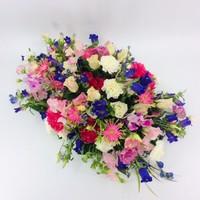 thumb-Fijne  kleurrijke afscheidsbloemen-1