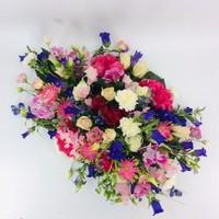 thumb-Fijne  kleurrijke afscheidsbloemen-3
