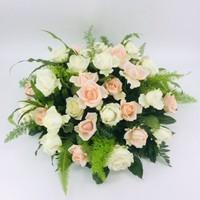 thumb-Zalm en  witte rozen ovaal-1