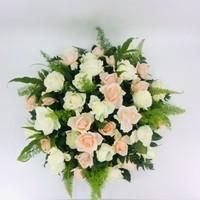 thumb-Zalm en  witte rozen ovaal-3