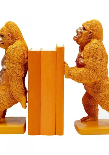 Kare-Design Boekensteun Gorilla Orange (2 / set)