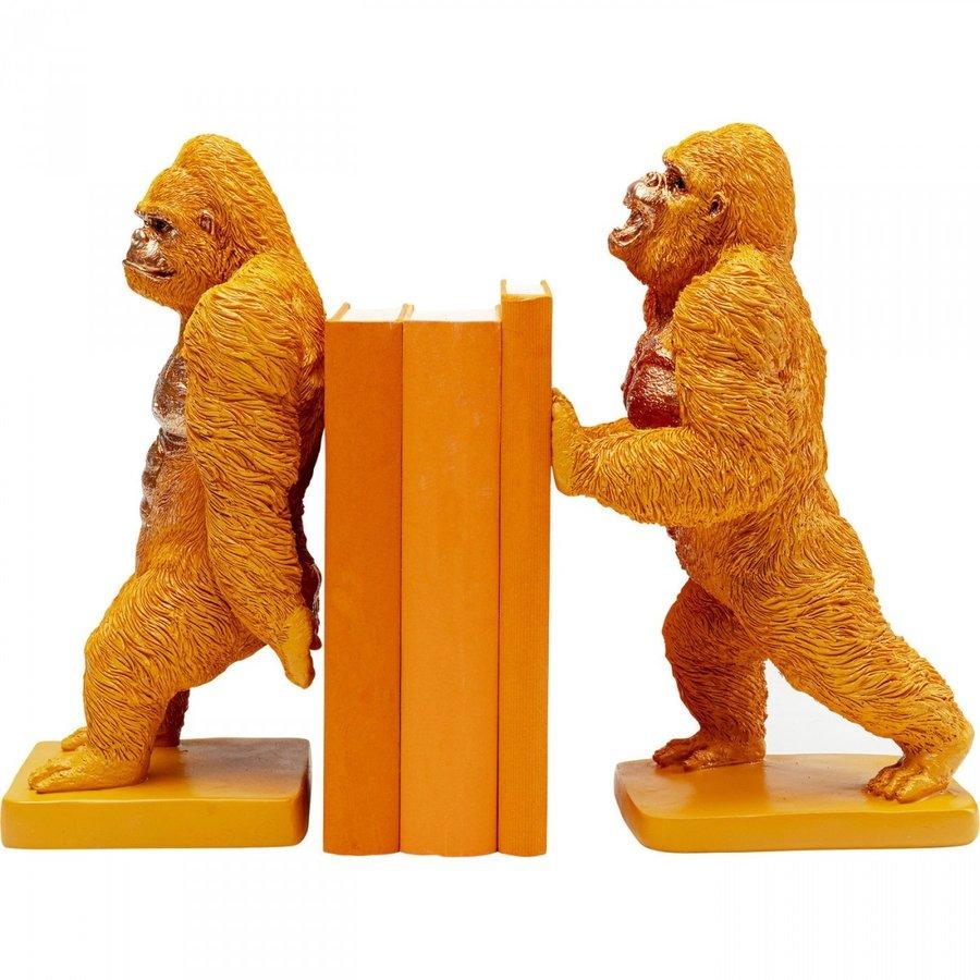 Boekensteun Gorilla Orange (2 / set)-1