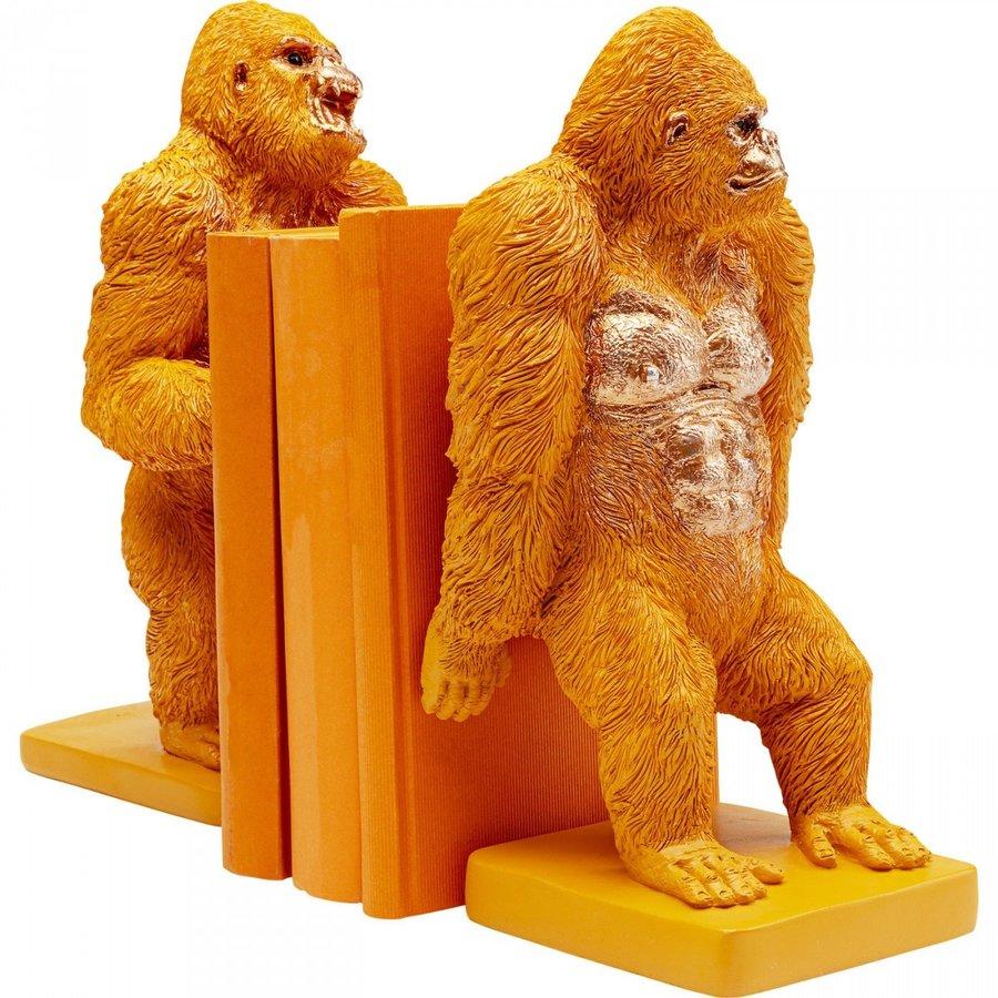 Boekensteun Gorilla Orange (2 / set)-2