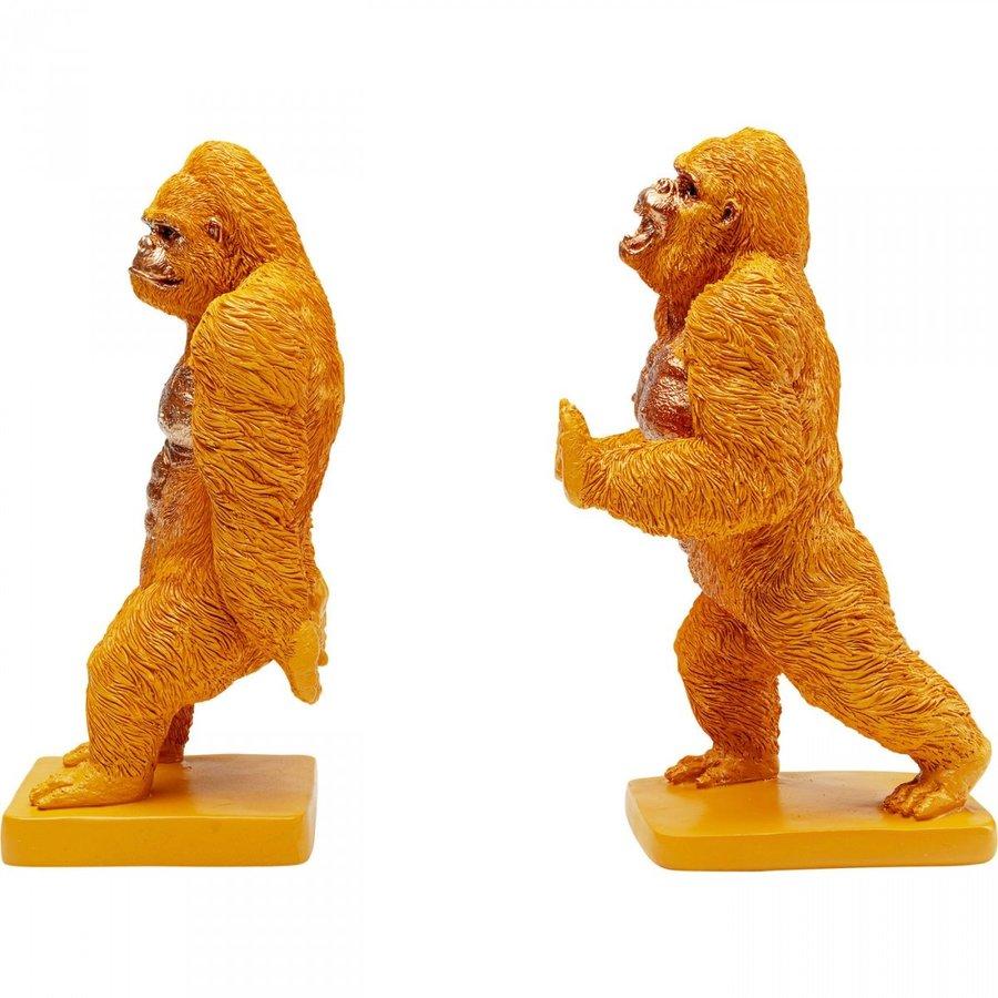 Boekensteun Gorilla Orange (2 / set)-3