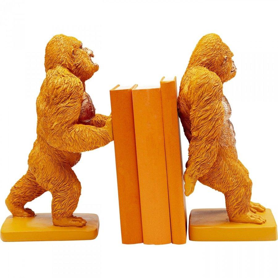 Boekensteun Gorilla Orange (2 / set)-4
