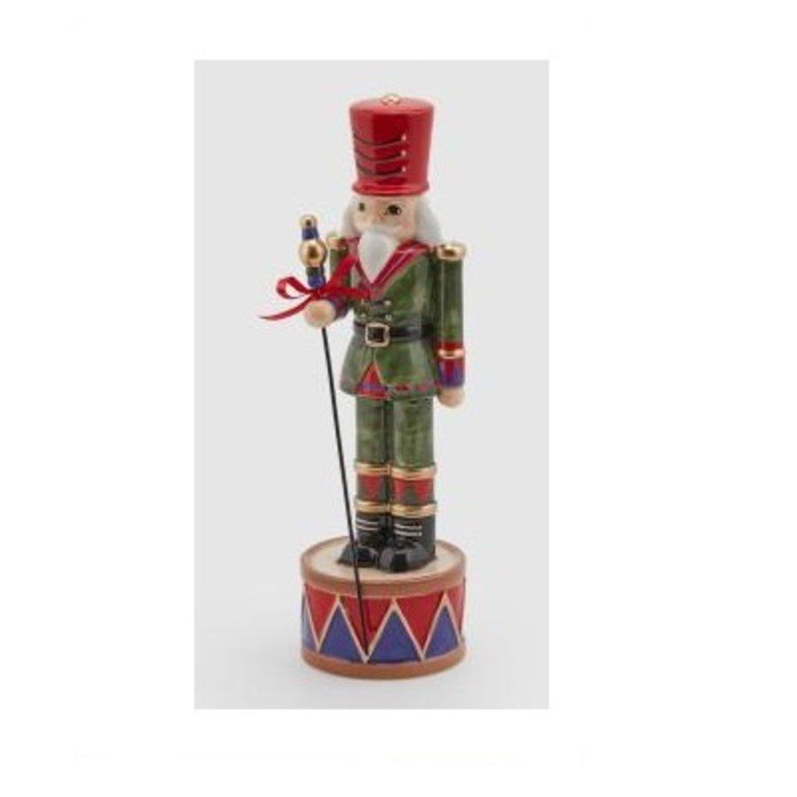 Soldaat met trommel H29 Groen Rood-1