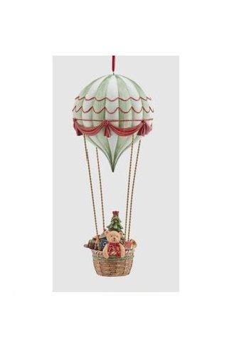 Abelia.nl Kerst Luchtballon met Poly Kersthanger