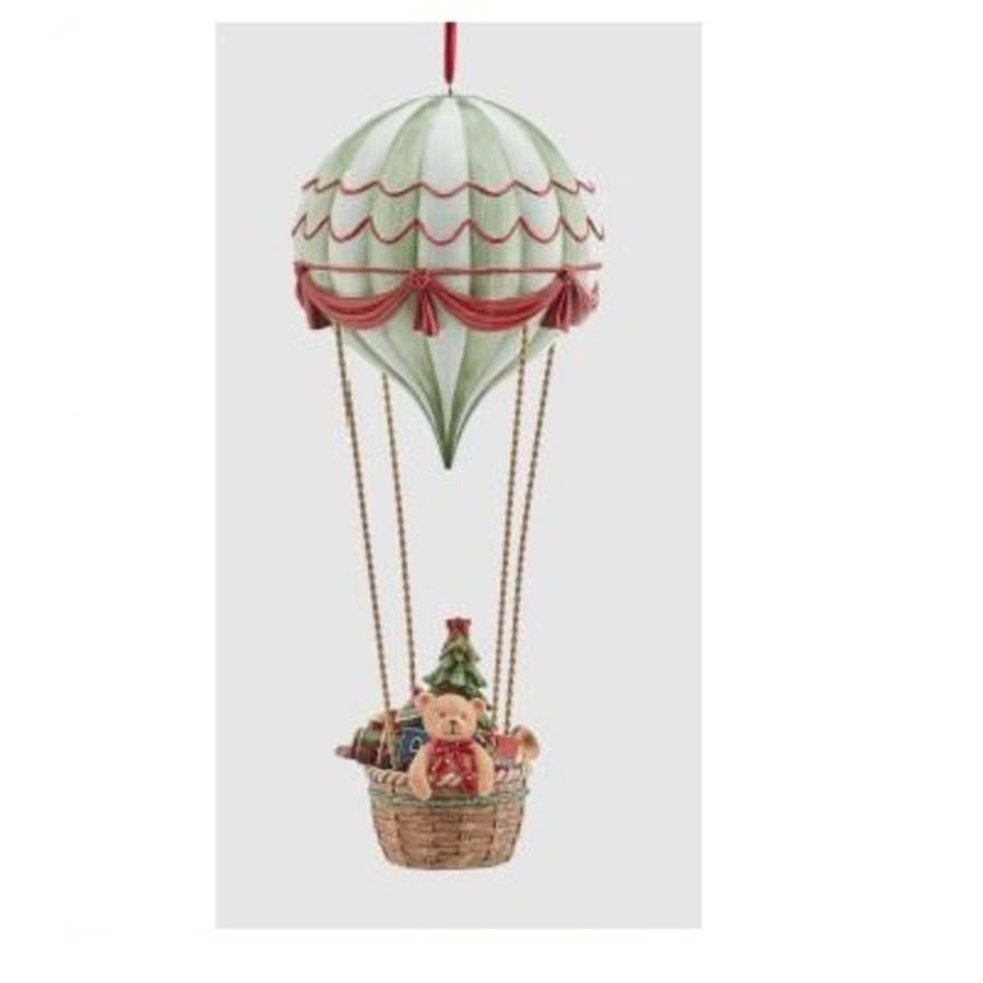 Luchtballon met Poly Kersthanger-1