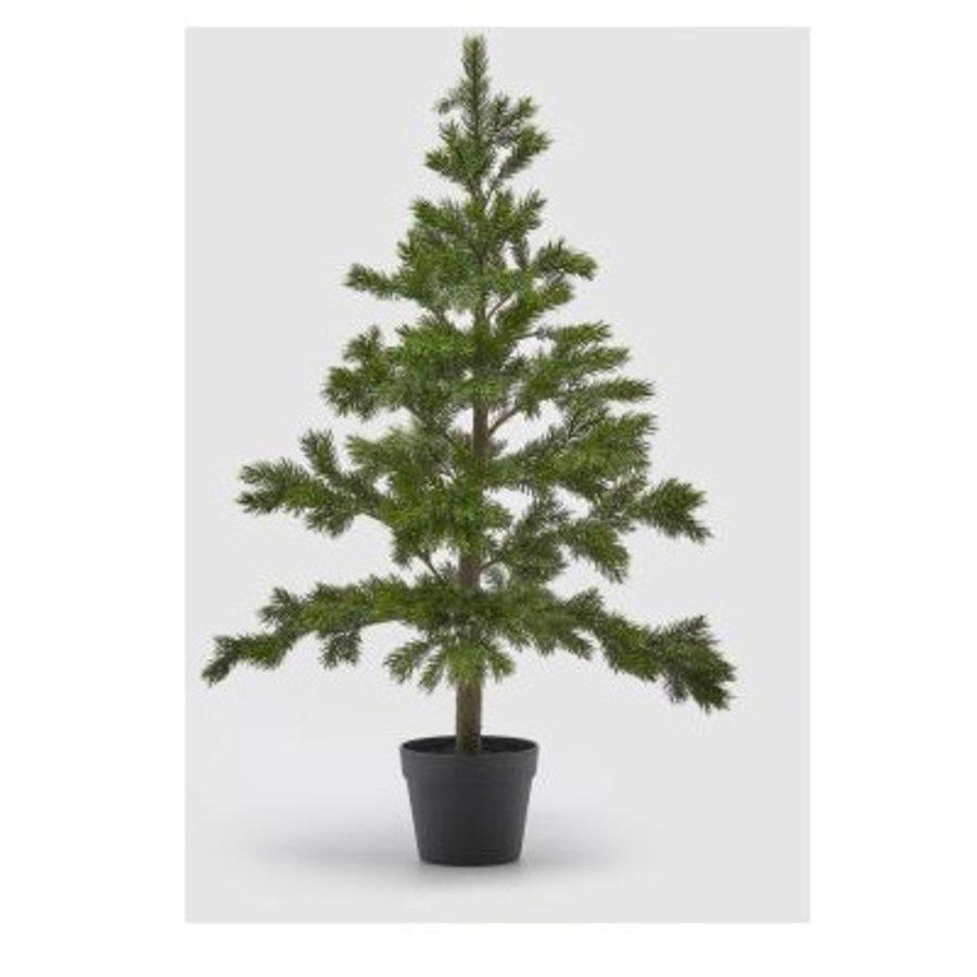 Kerstboom 100cm pine 50%-1